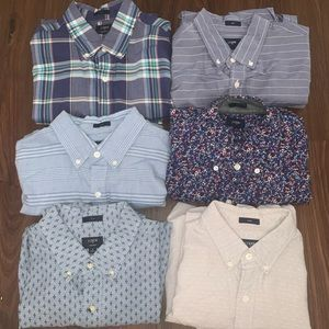 LOT of 6-J. Crew Long Sleeve Button Down Shirts